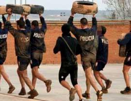 Provas físicas policia