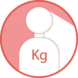 Peso máximo: 115Kg