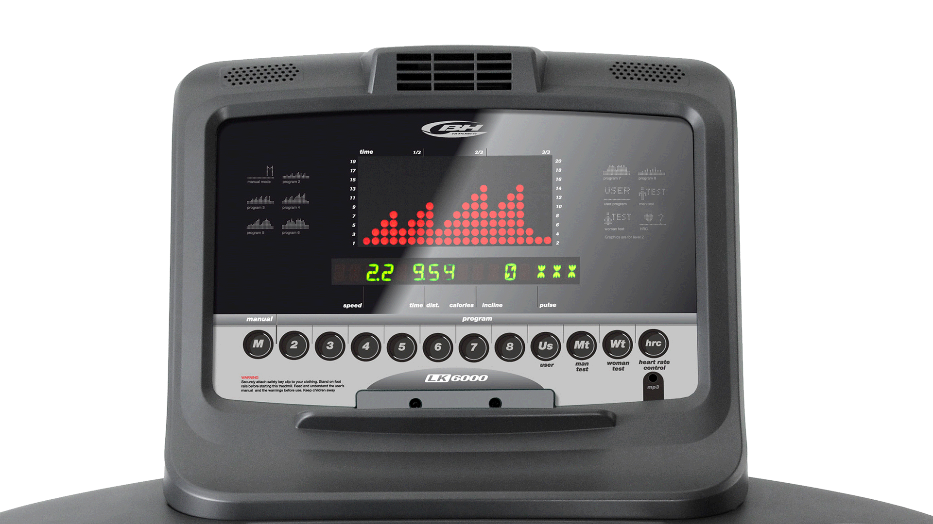 LK5500 Professional treadmill
