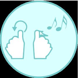 Função música